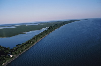 Aerial Photo of Point Pelee