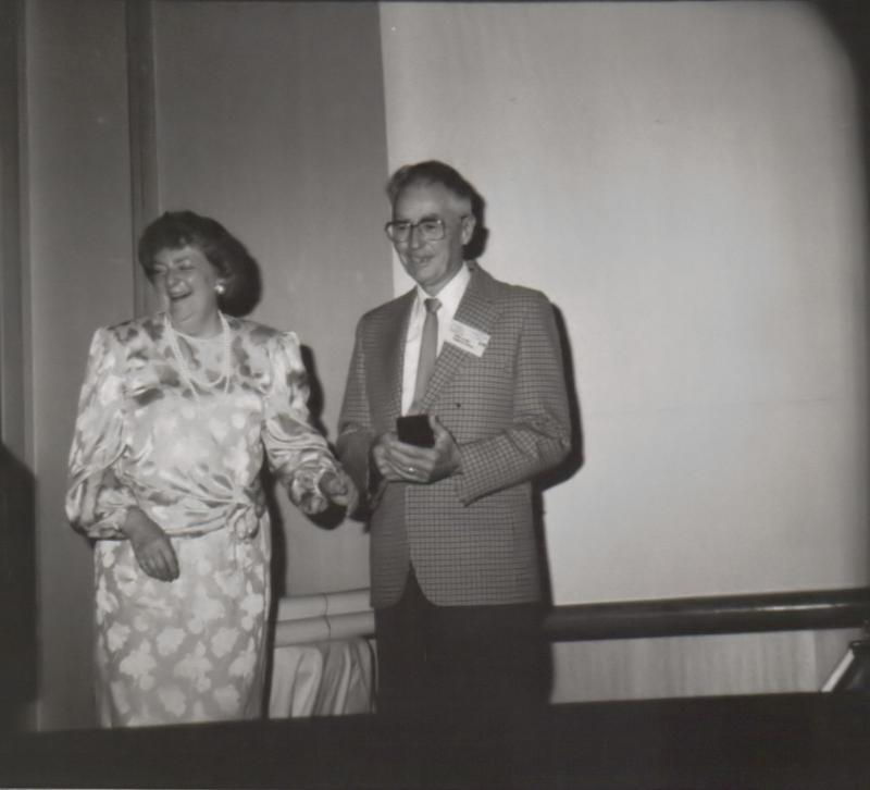 Mary Grey and Cyril Clark