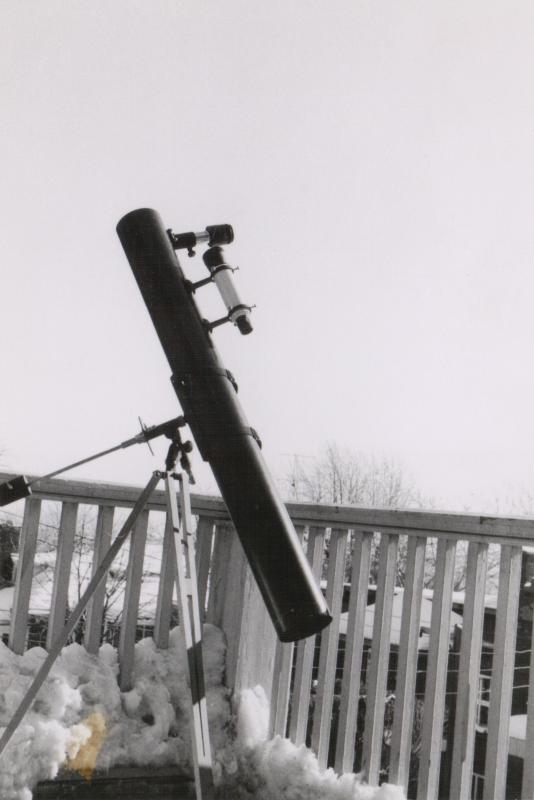 Telescope on Balcony #2