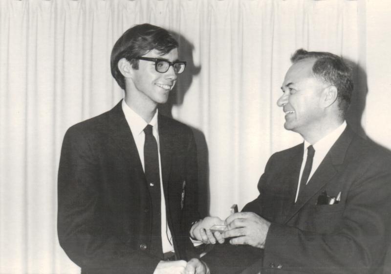 1968 Gold Medal Presentation