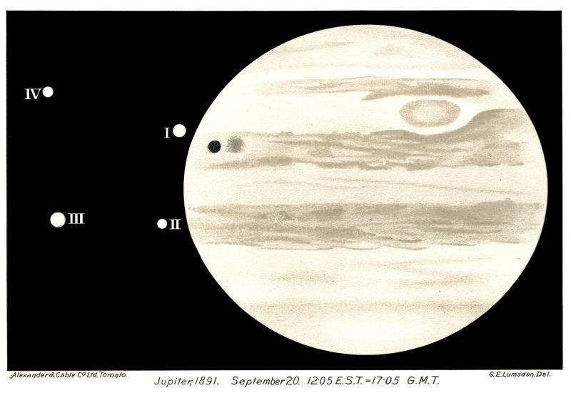 Jupiter Sketch 1891