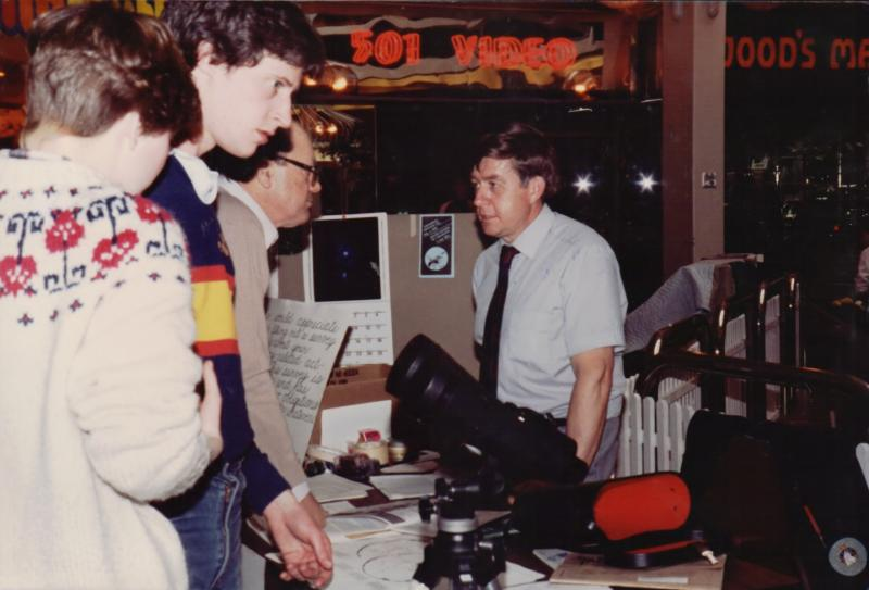 Leo Enright in 1984