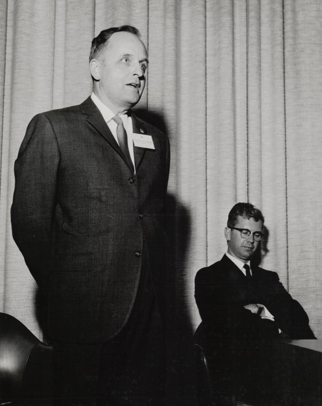 Peter Millman at the 1963 GA
