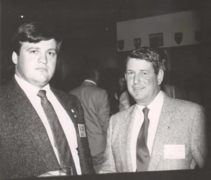 Steve Spinney and Lloyd Higgs