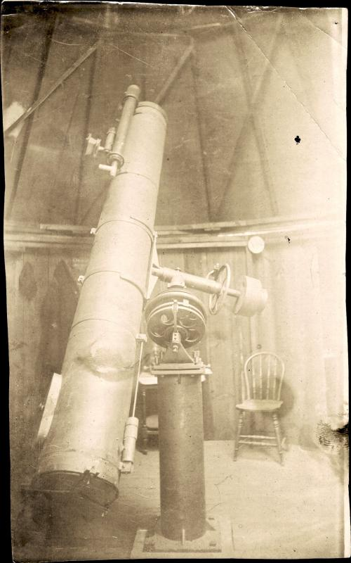 Wadsworth 12.5-inch telescope
