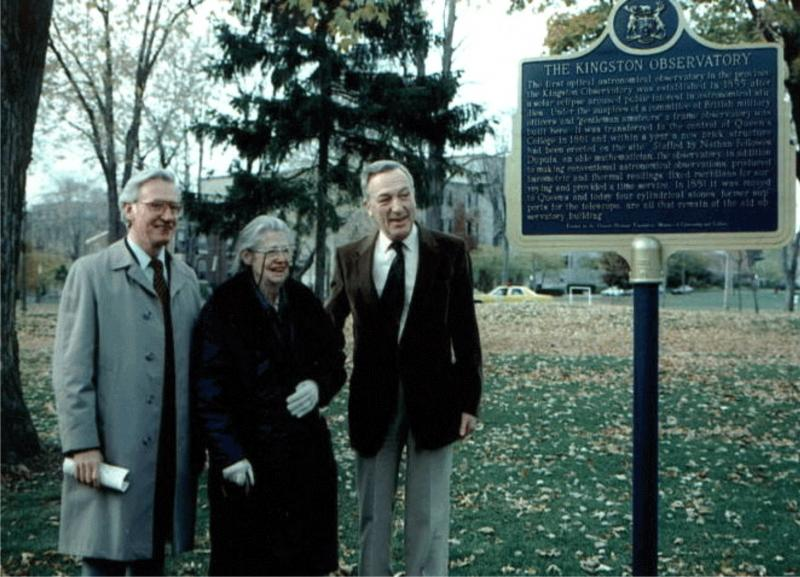 Kingston Plaque Dedication