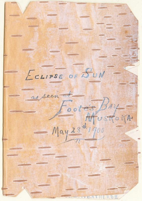 Eclipse 1900 in Birch Bark